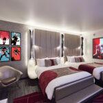 Superior Room Hotel new york art of marvel