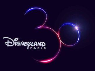 Disneyland Paris 30th anniversary logo