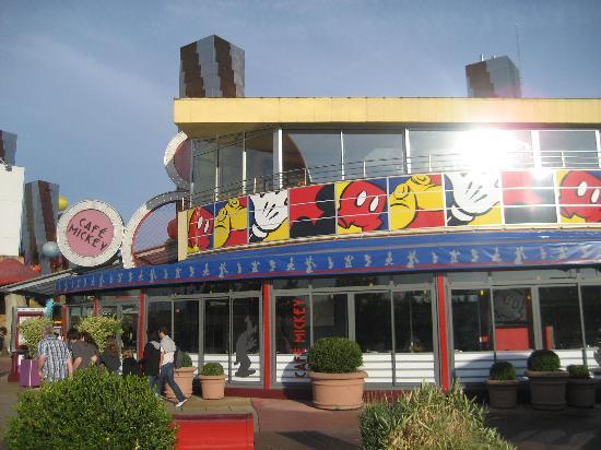 Cafe Mickey Menu