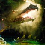 Dragon under the Castle