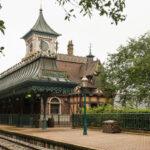 Fantasyland Railroad Station