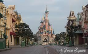main street & castle